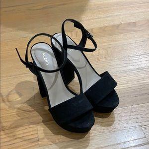 Aldo - Open Toe Strappy Heels